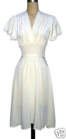 If you are having a casual wedding, this dress would be perfect!