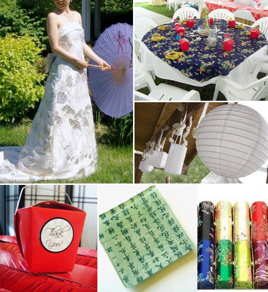 Inspiration Monday Asian Wedding Items Bravobride