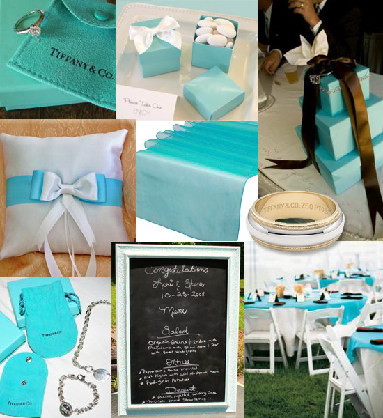 Today 39s inspiration is Tiffany Not only just Tiffany blue but also some