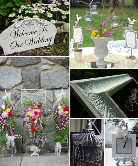 Shabby Chic Wedding Ideas | BravoBride