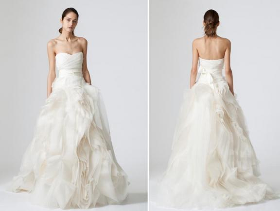 Vera wang spring 2010 wedding dresses bravobride vera wang spring 2010 wedding dresses foldover sweetheart junglespirit