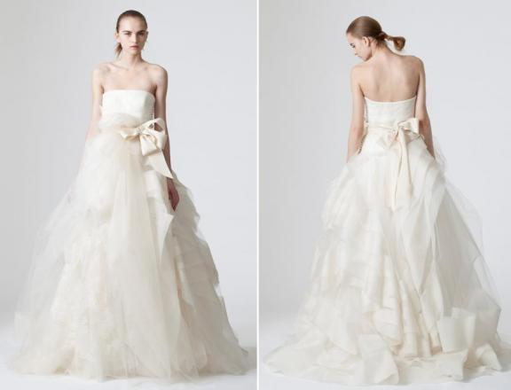 Vera wang spring 2010 wedding dresses bravobride for Best vera wang wedding dresses