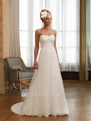 pre worn wedding dresses