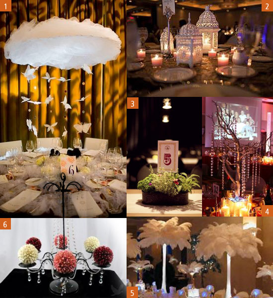 Unique wedding table decorations romantic decoration