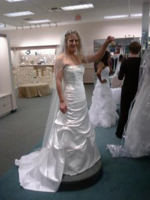 used davids bridal wedding dresses