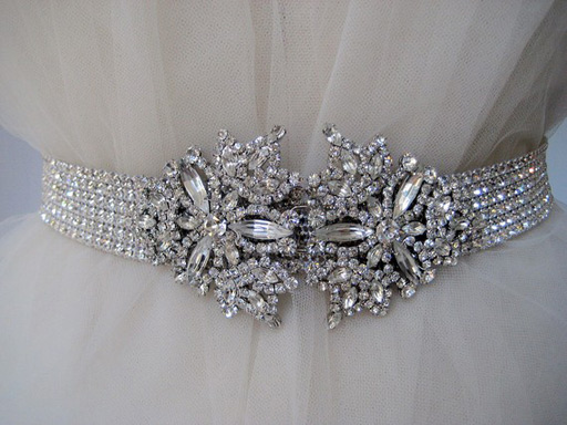 Hot Bridal Trend Belts Sashes Bravobride