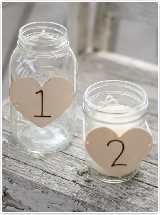 Unique Table number ideas