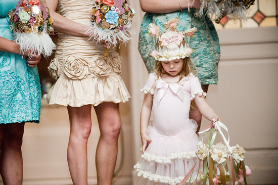 unique flower girl basket