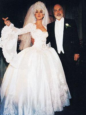 Celine Dion Wedding Dress Celebrity Dresses The Good Bad Bravobride