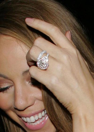 Mariah Carey Replaces 35-Carat Engagement Ring with ...