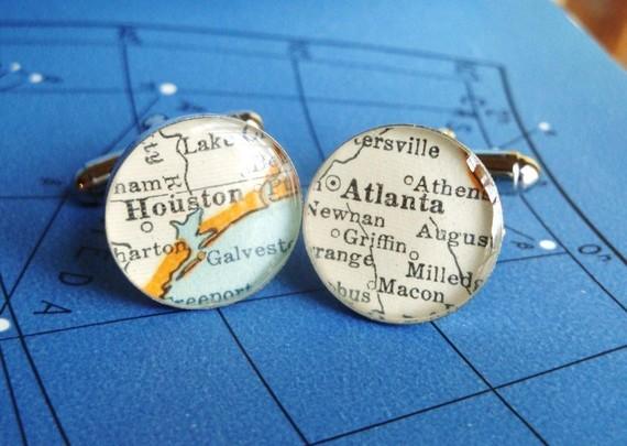 map cufflinks