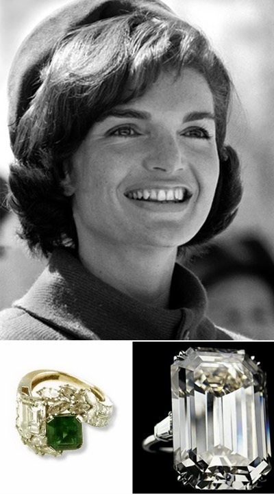 Jackie O was given this precious ring by President Kennedy in 1953