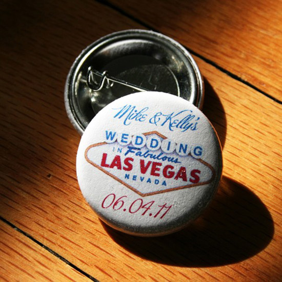 Speaking of wedding favors these buttons from Replica Chicago are a great