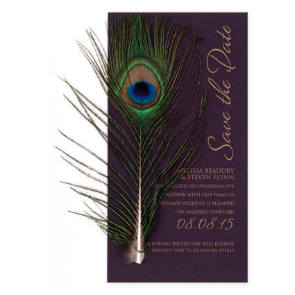peacock save the dates