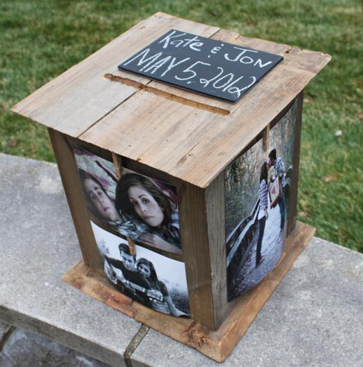 A Perfect Cardbox – Vintage Wedding Card Box