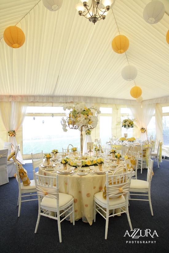 Luxury wedding linens