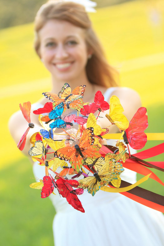 The Butterfly Bouquet Simply unique beautiful and fun