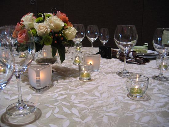 designer wedding linens