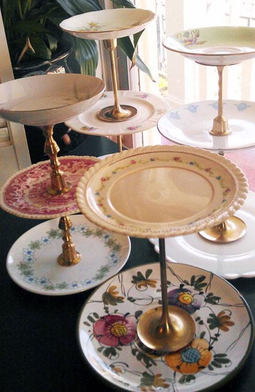 china plate cake platters