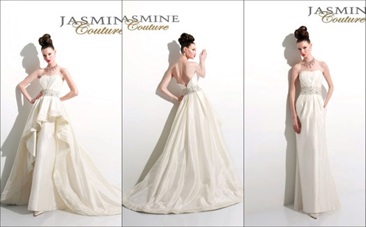Jasmine Couture wedding dress T387
