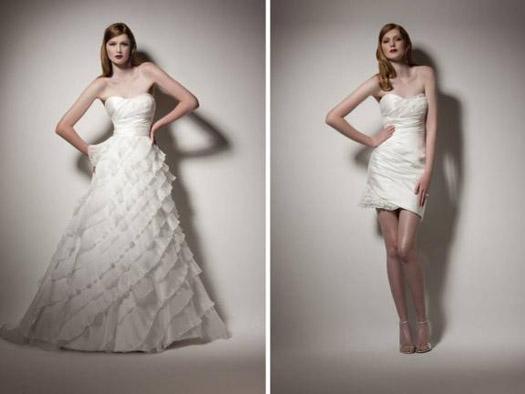 Martina Liana convertible wedding dress