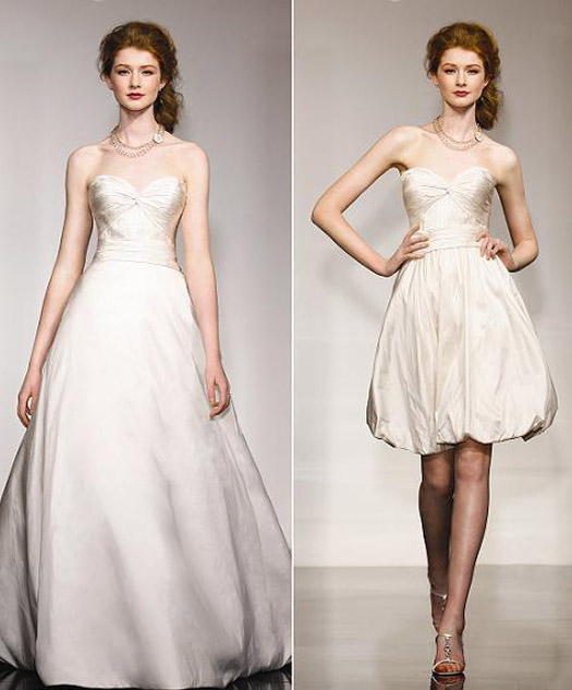 Hot Bridal Trend - Convertible Wedding Dresses | BravoBride