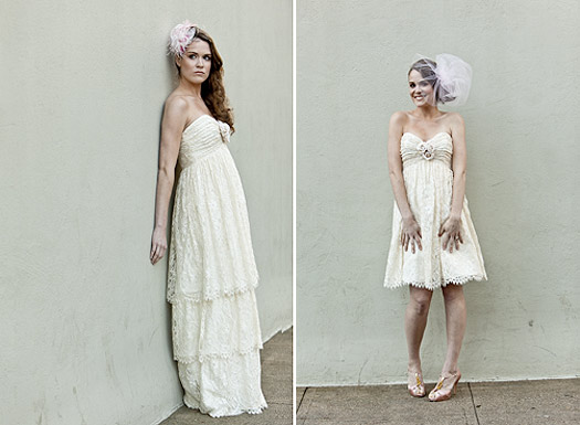 Cotton Bride convertible bride