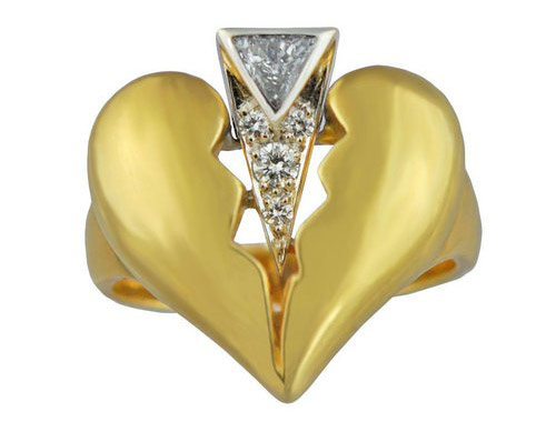 Diamond Dagger ring image by 1stDibscom