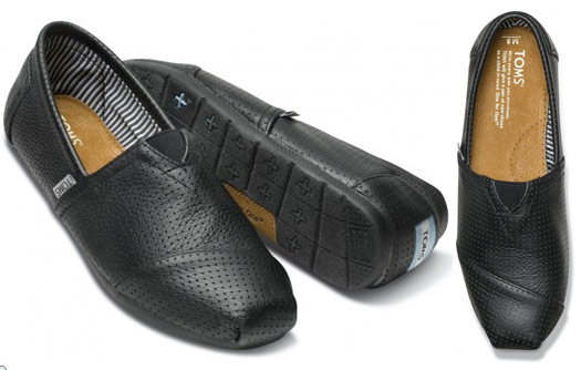 7f43334fea1 These Black Perforated Leather Men s Classics are another comfy and stylish  choice for your groom.