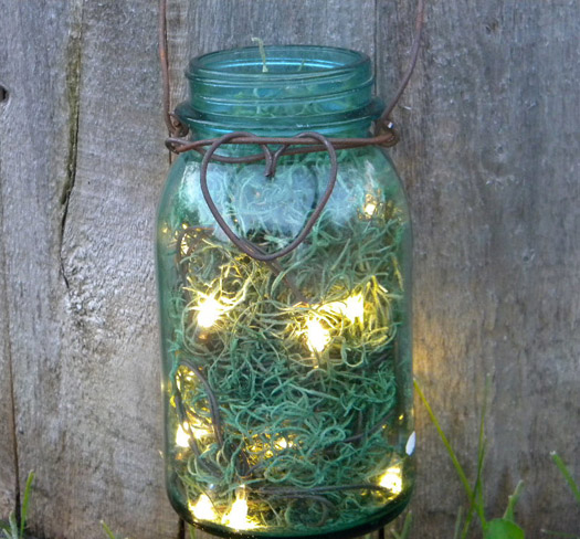 Blue Mason Jars Wedding Ideas: Mason Jar Centerpieces - 9 Ideas