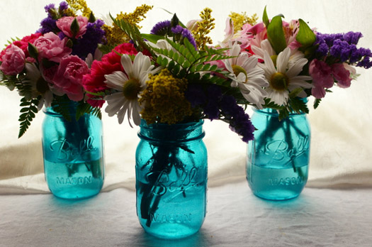 5696cff066b Mason Jar Centerpieces - 9 Ideas