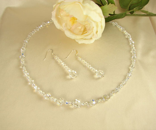 Bridal Jewelry Swarovski Crystal