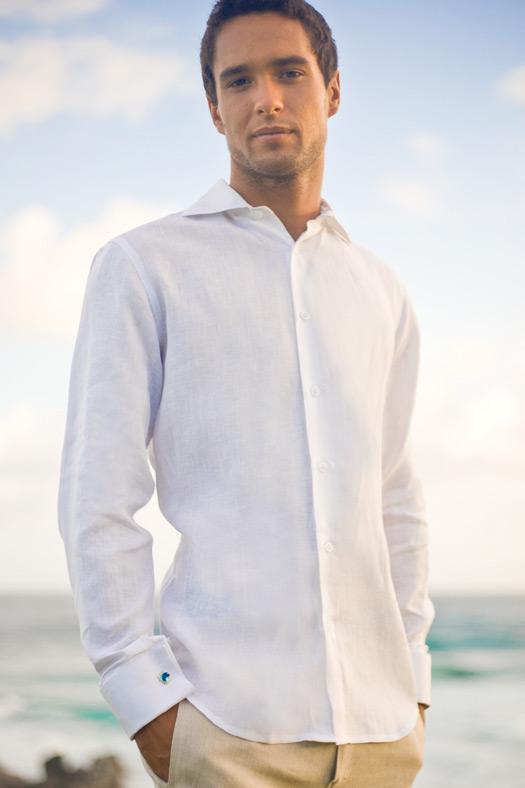 Mens Beach Wedding Attire Linen Suits Shirts Pants And Shorts   LONG ...
