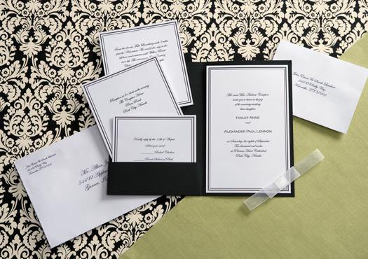 Wilton Wedding Invitations Template: Bellisima Bridal