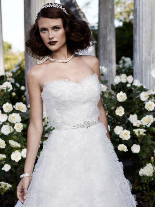 casablanca wedding dress 2057