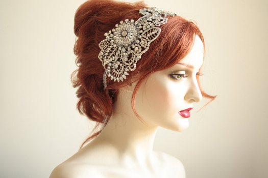 unique wedding hair accessory
