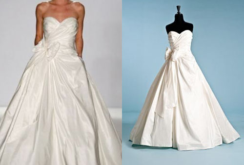 used Priscilla of Boston wedding dresses