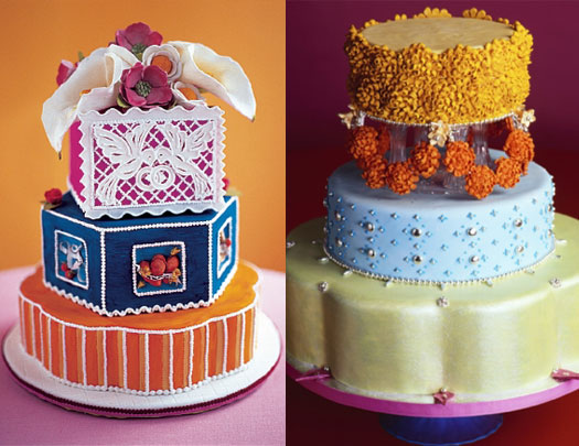 Monsoon Wedding Cake