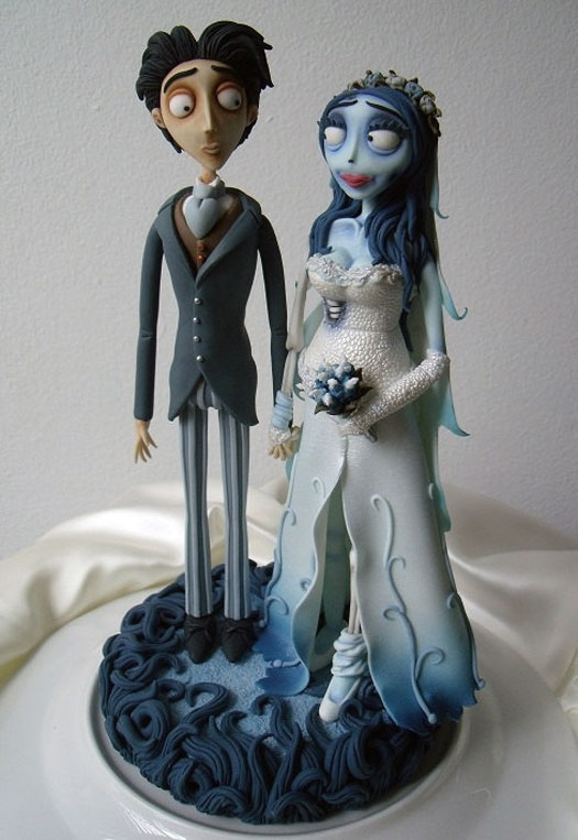7 Scary Wedding Cake Toppers