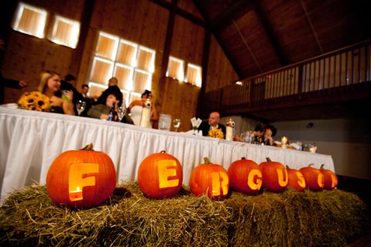 wedding halloween decorations