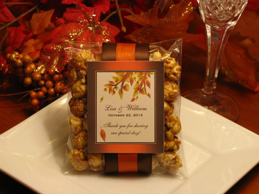 personalized halloween wedding favor