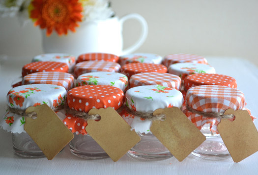 halloween wedding favor jars