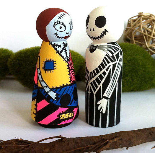 day of the dead cake toppers