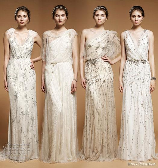 Goddess Wedding Dresses 3 Spectacular bling wedding dresses