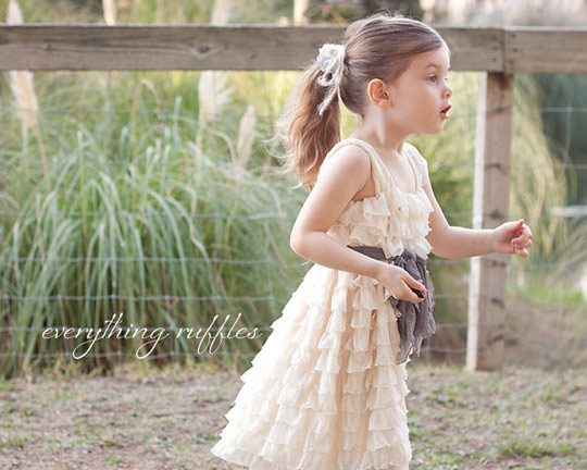 Fabulous Flower Girl Frocks  BravoBride