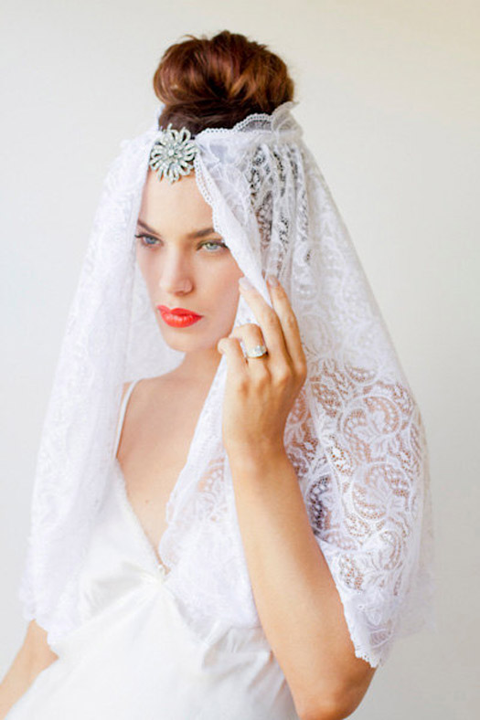used wedding veils