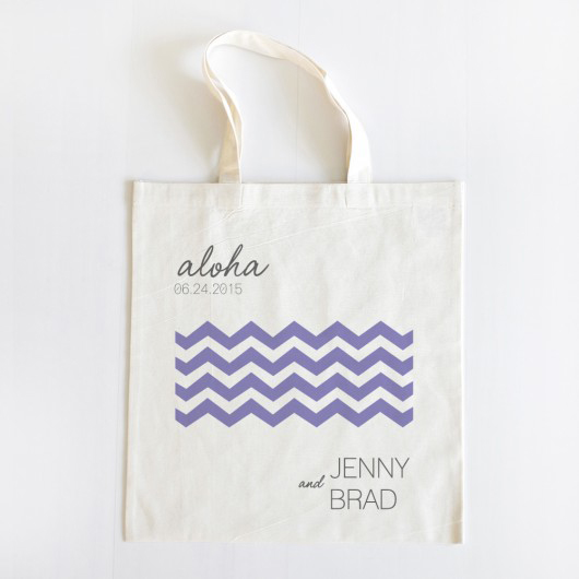 personalized wedding tote