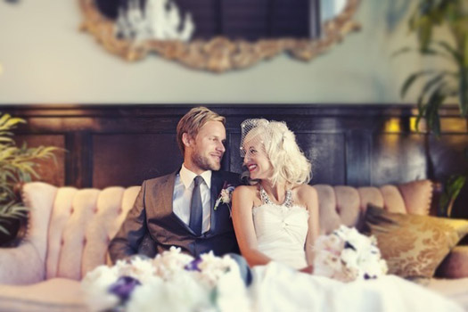 vintage glam weddings