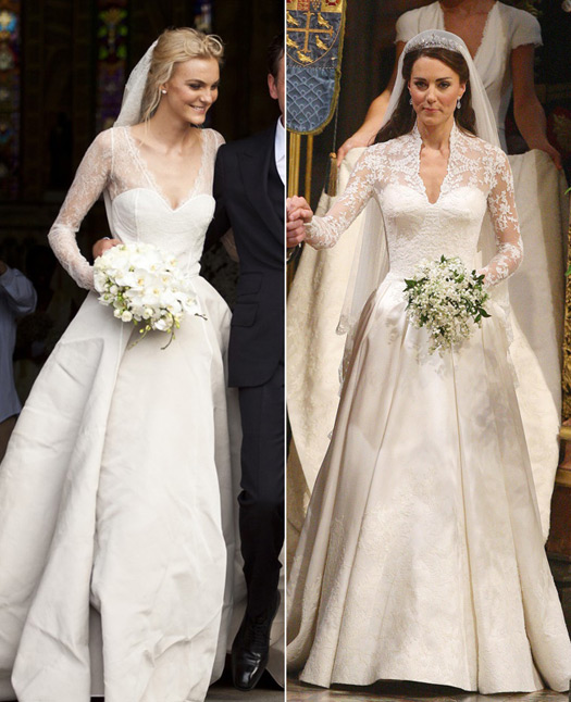Caroline Trentini wedding dress
