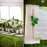 emerald green weddings